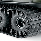 "18"" (457 MM) RUBBER TRACKS - 6X6"